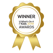 Baby Sensory- multiple award winners in the What's On 4 Kids Awards 2019